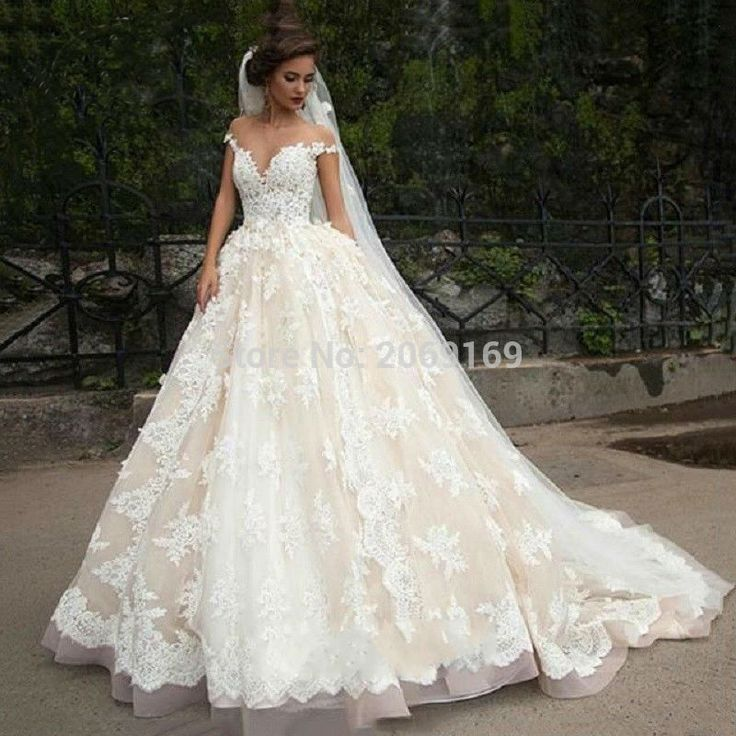 Luxury Lace Ball Gown Wedding Dress Off Shoulder Princess Arabic Muslim Arab Bride Bridal Dress Gown Weddingdress Custom made-in Wedding Dresses from Weddings & Events on Aliexpress.com | Alibaba Group
