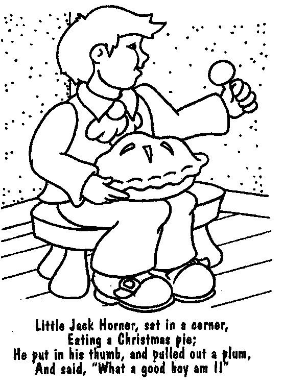 142 best nursery rhymes images on pinterest children for Nursery rhyme coloring pages preschool