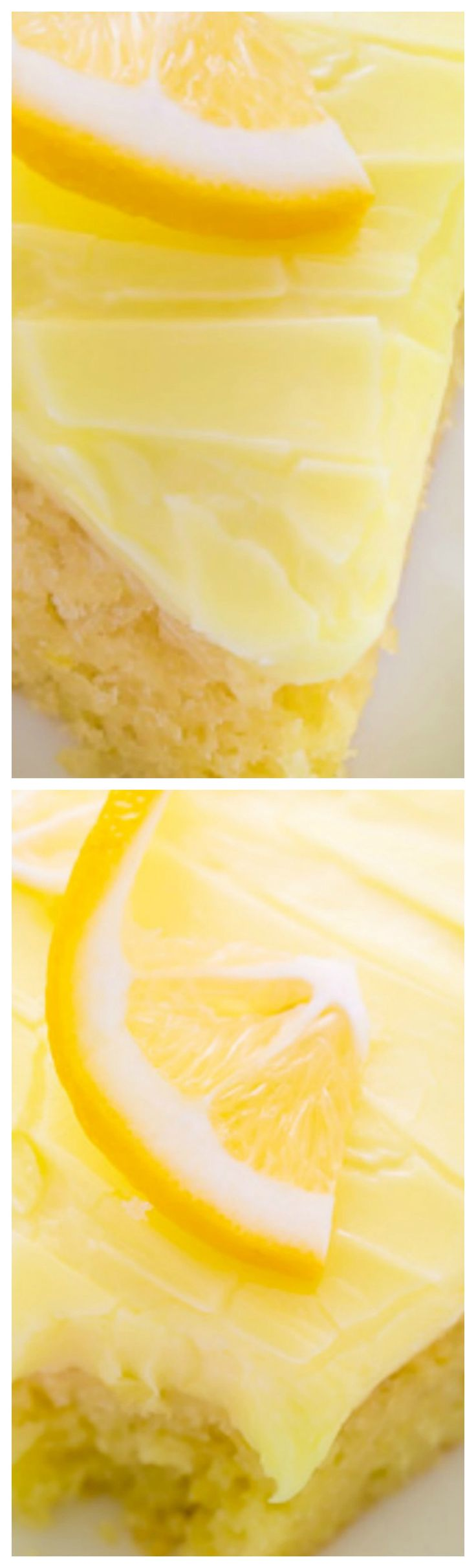 """Lemon Cake with Lemon Cream Cheese Frosting ~ Easy, delicious, and sure to please lemon lovers... A great """"everyday"""" dessert option."""