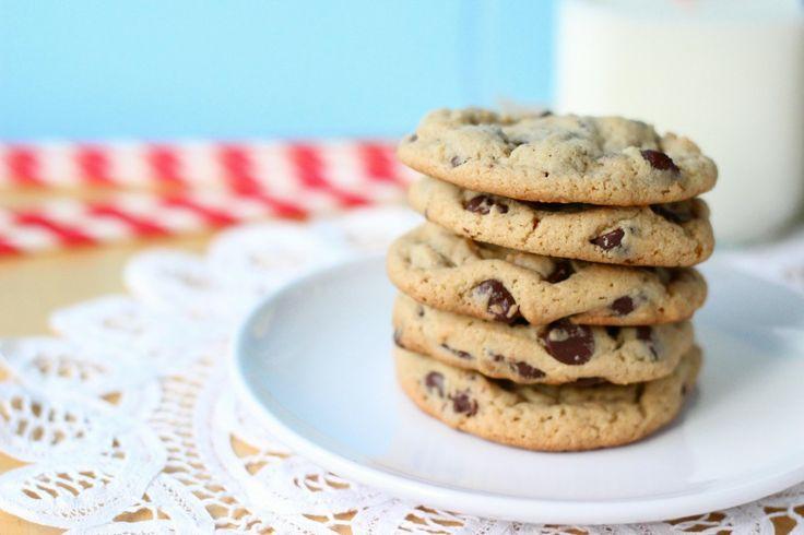 Peanut Butter Chocolate Chip CookiesDesserts, Chocolate Chips, Chocolates Peanut Butter, Chocolates Chips Cookies, Chocolates Cookies, Happy Food, Cookies Recipe, Choco Cookies, Chocolate Chip Cookies