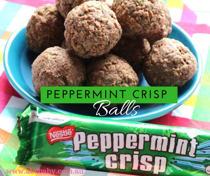 Peppermint Crisp bars how nice are they? I had a few bars left over for Christmas pavlovas so I decided to experiment a bit and came up with delicious balls! Ingredients 8 Peppermint Crisp Bars 1 Packet of Chocolate Ripple Biscuits 300 grams Chocolate Condensed Milk (available at Aldi) Method Pop Peppermint Crisp Bars and biscuits into a food proc...