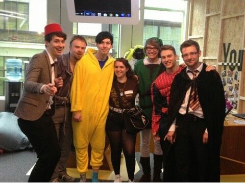 """Probably fan photo but from crabstickz video """"Geek Week: I Can't Even"""""""