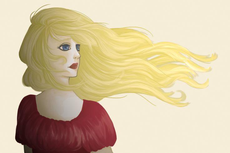 A friend's character, Elise  A personagem de uma amiga, Elise