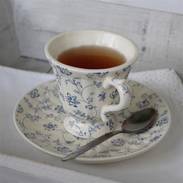 Blue Dainty T-Cup - SET of 4 [KY4244-1-2D] - R356.00 : BIGGIE BEST