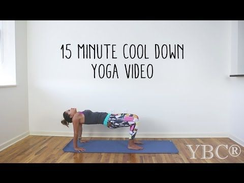 15 Minute Cool Down Yoga Video — YOGABYCANDACE - great for the end of the day