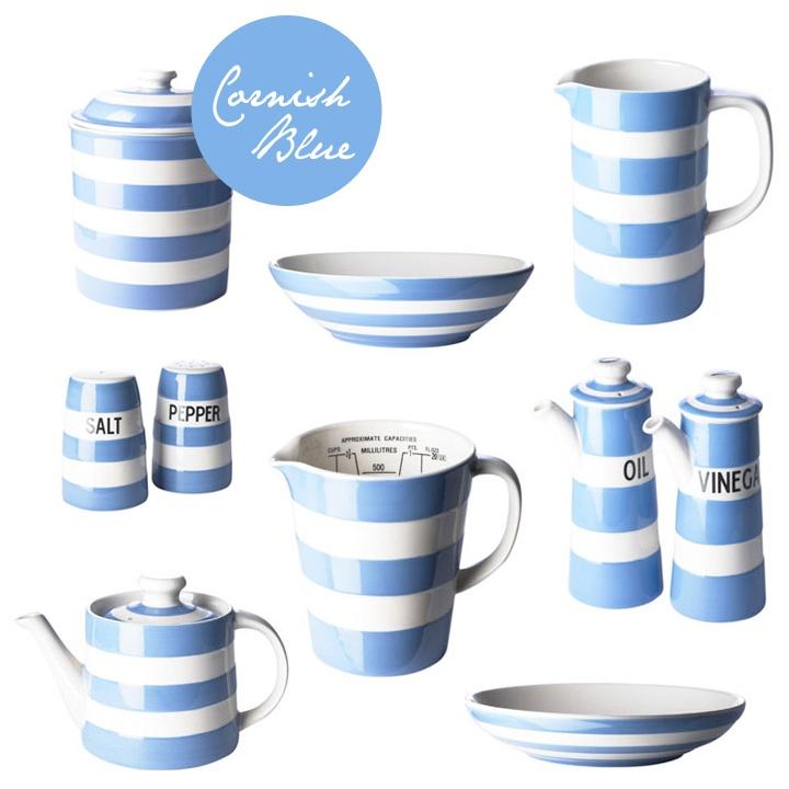 Striped Cornishware  sc 1 st  Pinterest & 52 best Cornishware images on Pinterest | Cornishware Blue and ...