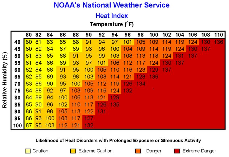 What is the Heat Index and Why Is It Used?   The Weather Channel