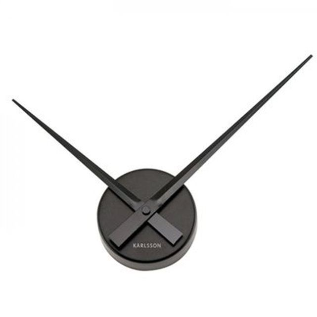 Horloge Karlsson Aiguilles Mini Noire