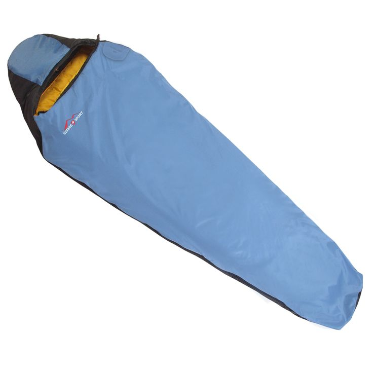 Amazon.com : Suisse Sport Adventurer Mummy Ultra-Compactable Sleeping Bag, Left Zipper (Blue) : Ultralight Sleeping Bag : Sports & Outdoors