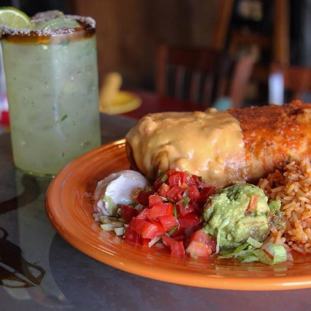 Planning your next meal? Dig into these chimichangas from @PacosTacosandTequila. #SpecialtyShopsSouthPark #GreatEats #Yum #CLTEats #QueenCity