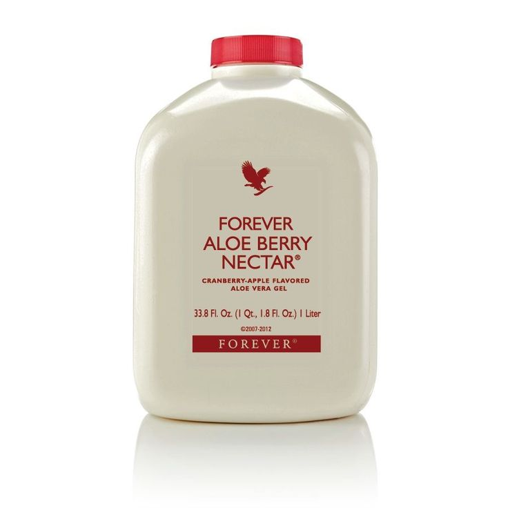 Forever Aloe Berry Nectar, Cranberry and Apple flavoured Aloe Vera Gel.