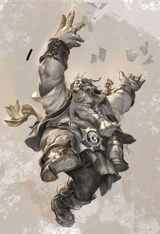ArtStation - Blizzard gamescom2015 poster , Jesper Ejsing