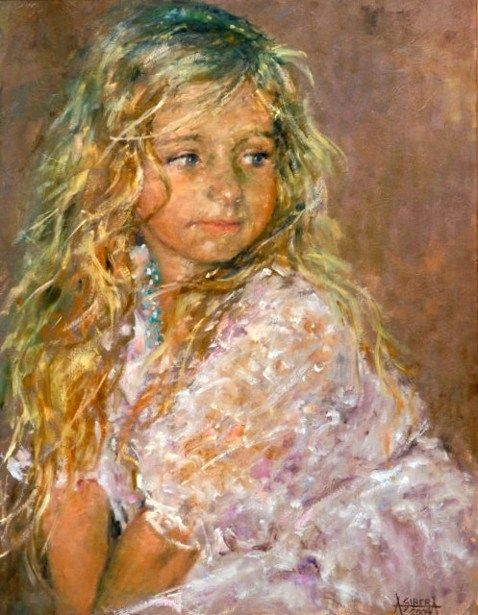 Alina sibera polish child portraits and artwork for Paintings of toddlers
