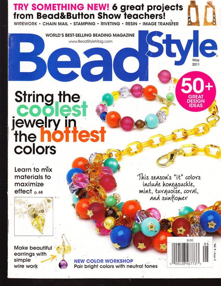 97 best beading magazines images on pinterest beads magazine bead style may 2011 worlds best selling beading magazine fandeluxe Images