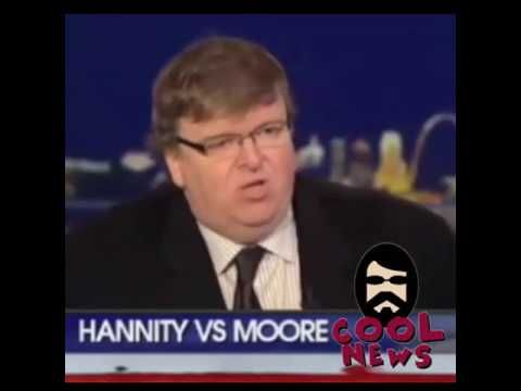 Hannity Destroys Michael Moore, exposes his hypocrisy live on National TV - YouTube