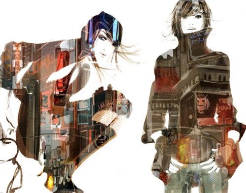 sophie griotto illustrations are Soo chic!