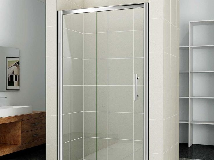 glass shower door half wall google search
