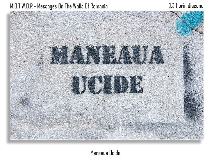 Message: Maneaua ( http://en.wikipedia.org/wiki/Manele ) kills Location: Ion Mihalache Boulevard, Bucharest