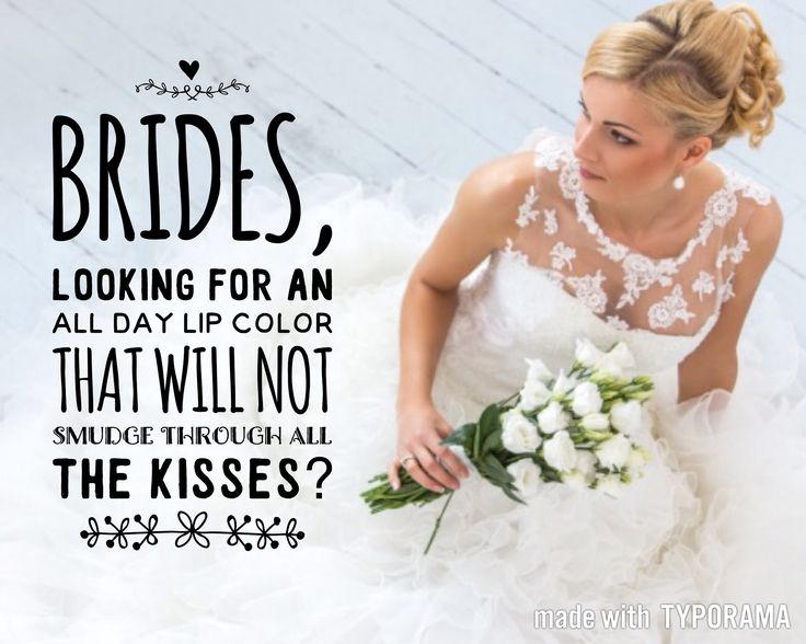 Brides. SeneGence Distributor ID: 351172. Email: prettypoutyperfection@gmail.com. FB Group: Pretty Pouty Perfection.