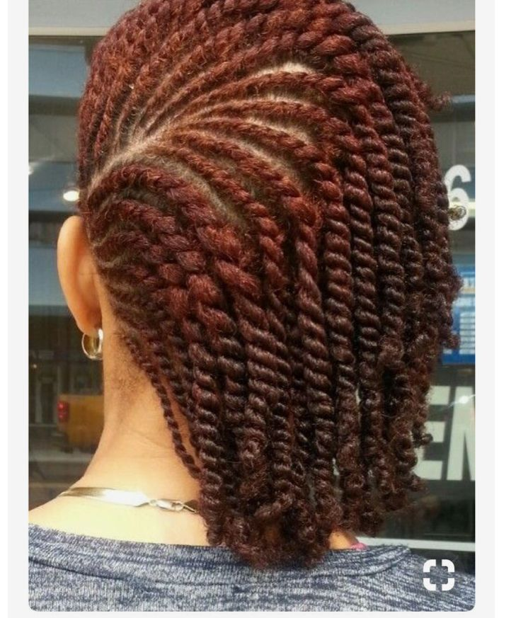 Natural Hair Style Braids For Short Hair Natural Hair Twists Natural Hair Styles
