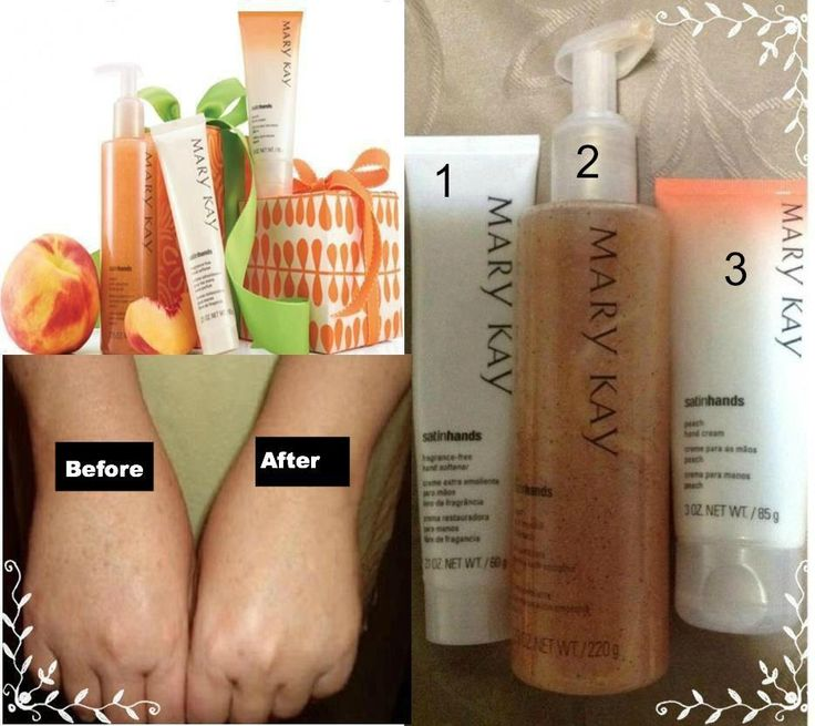 Satin Hands by Mary Kay. Comes in Peach and Fragrance Free. http://www.marykay.com/jwoods03 567.343.1569