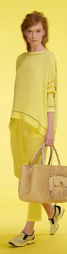 yellow @roressclothes closet ideas #women fashion outfit #clothing style apparel