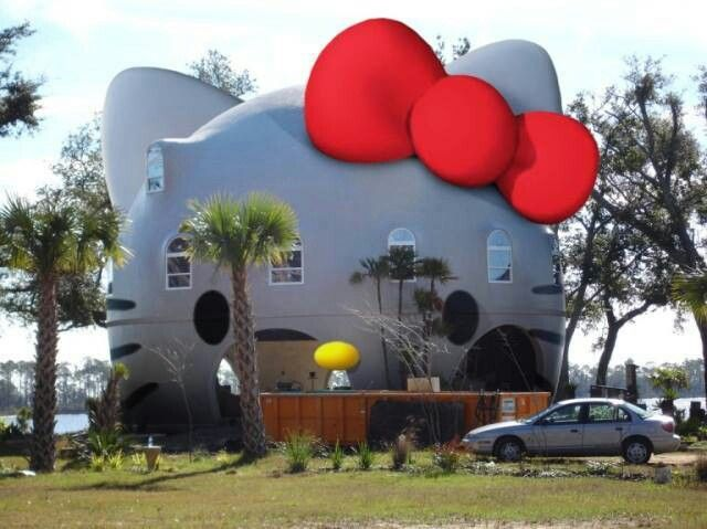 Hello kitty house!
