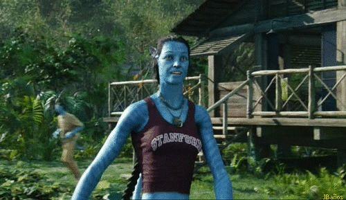 Jake y Grace en su primer encuentro como Avatar