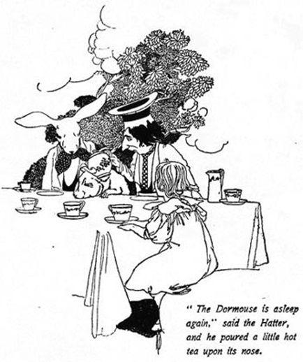 by Charles Robinson 1907 Alice's Adventures In Wonderland