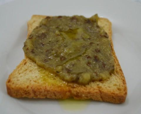 Pasta árabe de beringela (babaganuche)