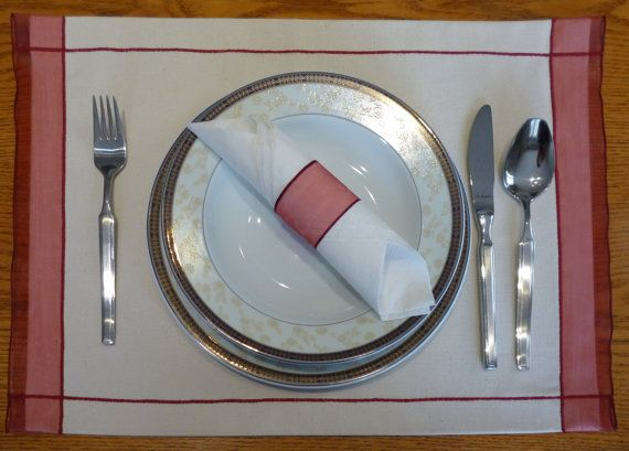 Valentine's Day, Placemat, Runner, Table Decor, Home, Gift, Table runner, Wedding Decor. Set of two.