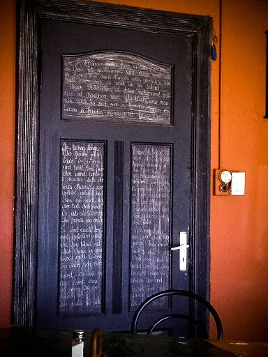 The door.... Diaz cafe... Lüderitz