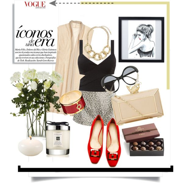 """""""look & lux"""" by deluniq on Polyvore"""