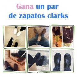 gana un par de zapatos clarks ^_^ http://www.pintalabios.info/es/sorteos-de-moda/view/es/4736 #ESP #Sorteo #Calzado