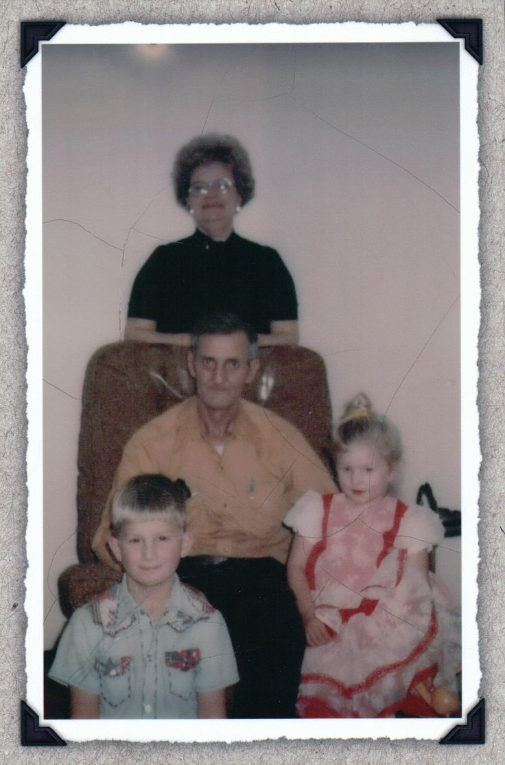 Papa Ray, Grandma Helen, Annette, and Craig