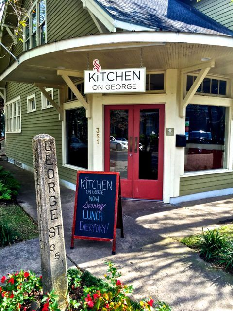 Kitchen on George is a wonderful restaurant in Mobile, Alabama, serving lunch, dinner and Sunday brunch.