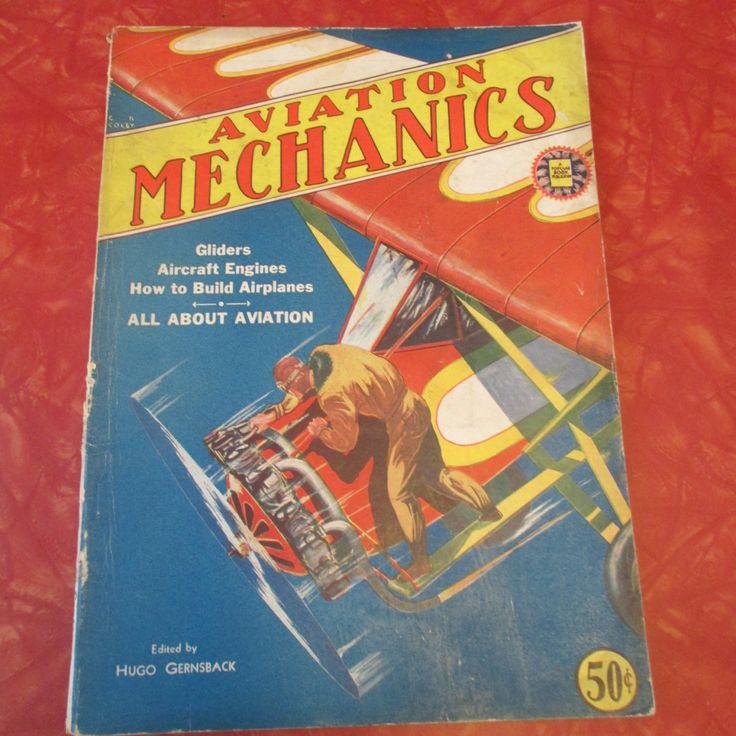 Rare 1930 Aviation Mechanics Magazine Vol. 1 by AuctionAddict38 on Etsy