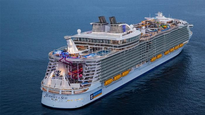 Yuk, Intip Pembuatan Kapal Pesiar Terbesar di Dunia Ini, Titanic Gak Ada Apa-apanya!