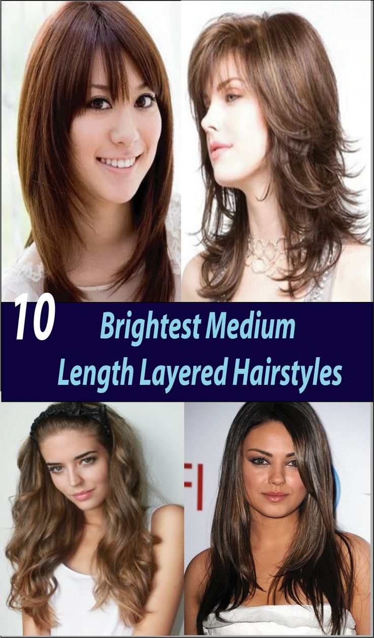 Medium length layered hairstyles are fabulous and attractive. Once put on, easy to manage. There are plenty of variations in medium length short hairstyles.