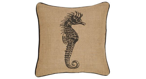 Sea Horse Cushion