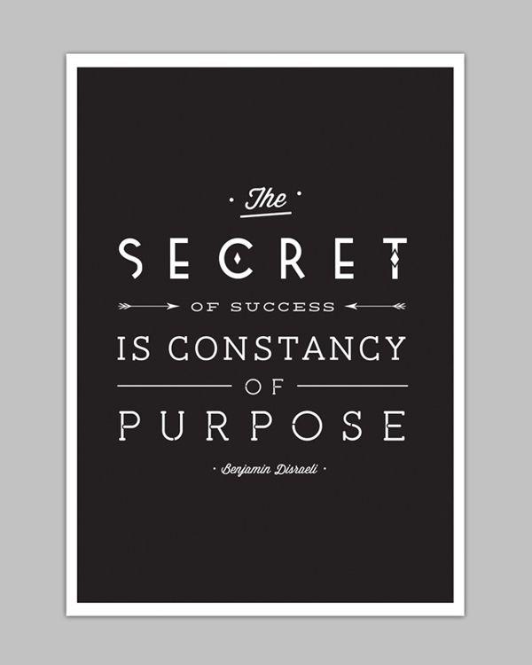 Benjamin Disraeli #quote #words - design by Ena Bacanovic