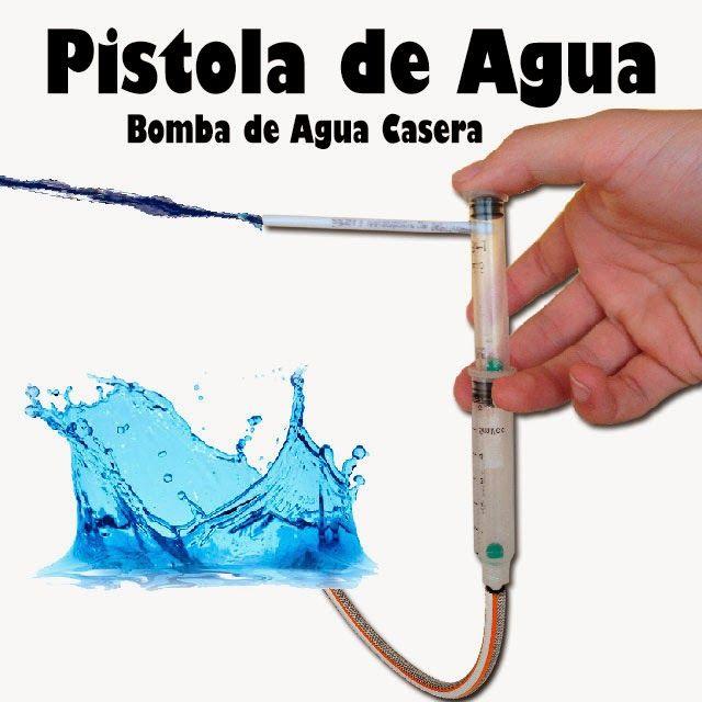 Pistola de agua casera proyectos caseros pinterest - Como hacer una shisha casera ...