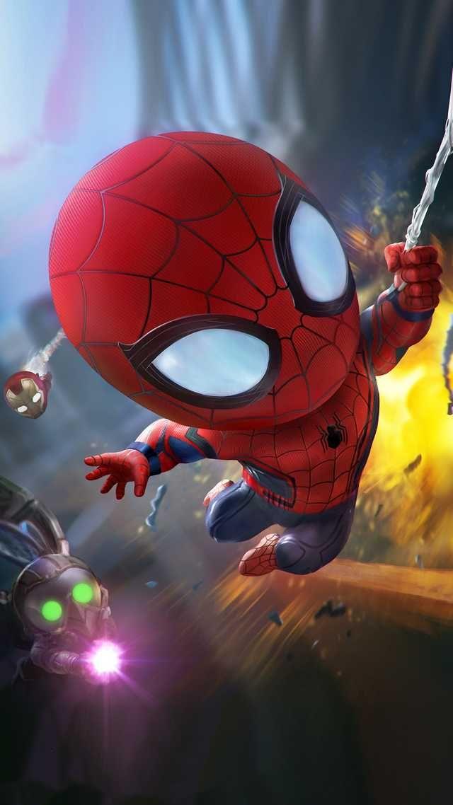 Wallpaper Dump 1080x1920 Chibi Marvel Marvel Artwork Superhero Wallpaper