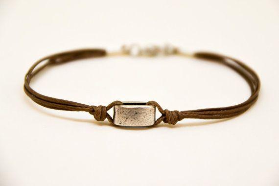 Regali Festa del papà marrone braccialetto per gli di Principles