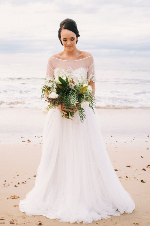 Beach Bridal Wedding Dress When Freddie met Lilly