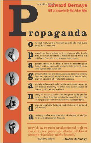 Propaganda: Edward Bernays, Mark Crispin Miller: 9780970312594: Amazon.com: Books