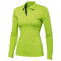 Branded Slazenger Long Sleeve Golf Shirt - Ladies' | Corporate Logo Slazenger Long Sleeve Golf Shirt - Ladies' | Corporate Clothing