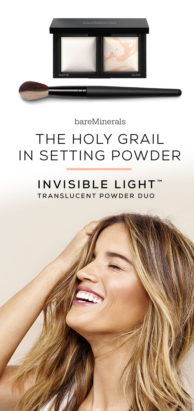 NEW Invisible Light Translucent Powder Duo is an evolution in setting powder. This dimensional duo of silky, ultra-fine baked translucent powders diffuses the look of pores and imperfections. Two distinct finishes give your complexion an effortlessly fresh-not flat-look. Matte: Absorbs oil and is the perfect setting powder. Glow: Adds sheer luminosity for highlighting and strobing.