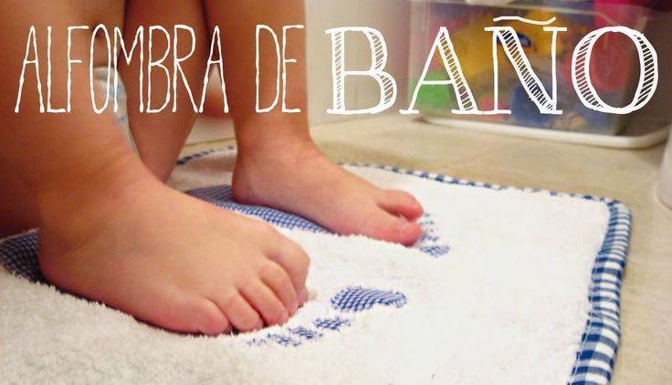 Diario de crecer: :: Tutorial costura :: Alfombra de baño