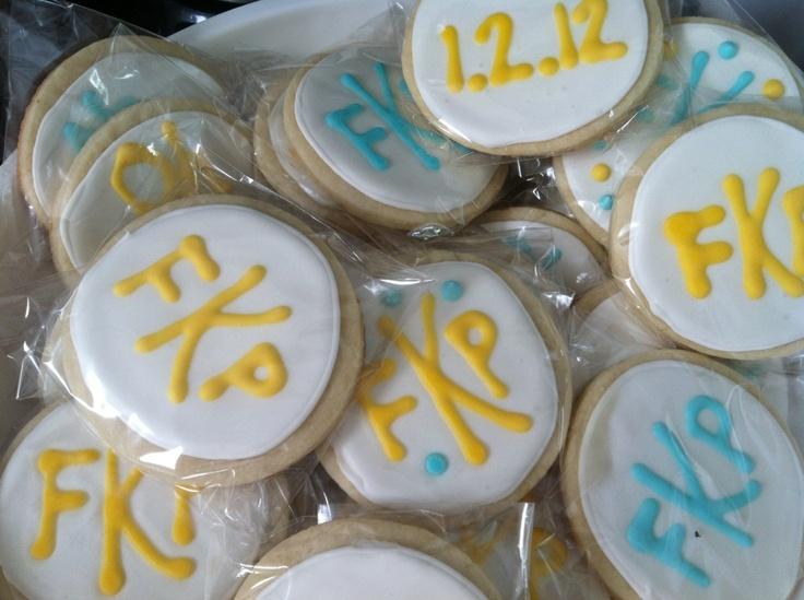 Sugar cookies - Sip n See party